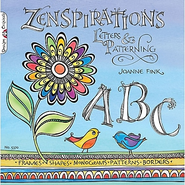 Design Originals Zenspirations Letters and Patterning Book