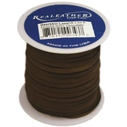 "Silver Creek DOS50-0207 Deerskin Chocolate Lace, 50'L x 0.13""W, 8/Pack"