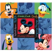 "Trends International Disney Embossed Postbound Album With Window, 12"" x 12"""