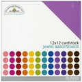 Doodlebug Jewel Textured Cardstock, 12in. x 12in.