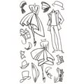 Ranger 5in. x 9in. Dyan Reaveley's Dylusions Couture Clear Stamp, Mini Couture
