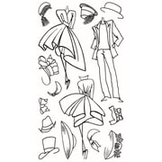 """Ranger 5"""" x 9"""" Dyan Reaveley's Dylusions Couture Clear Stamp, Mini Couture"""