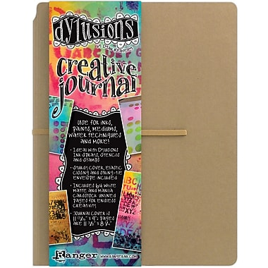 Ranger 8 1/4in. x 11 3/8in. Dyan Reaveley's Dylusions Creative Journal