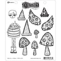Ranger 7in. x 8 1/2in. Dyan Reaveley's Dylusions Cling Stamp, Doolally Dorris