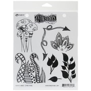 "Ranger 7"" x 8 1/2"" Dyan Reaveley's Dylusions Cling Stamp, Doodle Parts"