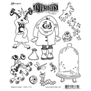 "Ranger 7"" x 8 1/2"" Dyan Reaveley's Dylusions Cling Stamp, Monster Mash"