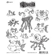 """Ranger 7"""" x 8 1/2"""" Dyan Reaveley's Dylusions Cling Stamp, Under The Sea"""