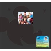 "EK Success® Disney Mickey Postbound Album With Window, 12"" x 12"", Black"