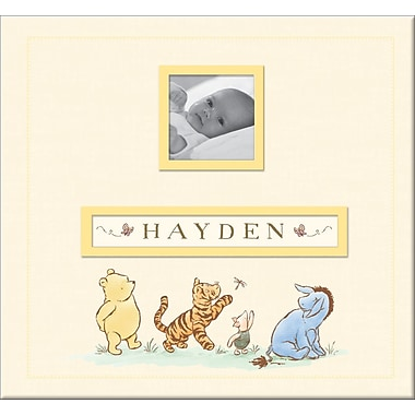EK Success® Disney Classic Pooh Frame-A-Name Postbound Album, 12