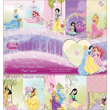 EK Success® Disney Princess Specialty Paper Pad, 12