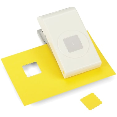 EK Success® Nesting Paper Punch, Scallop Square, 1in.