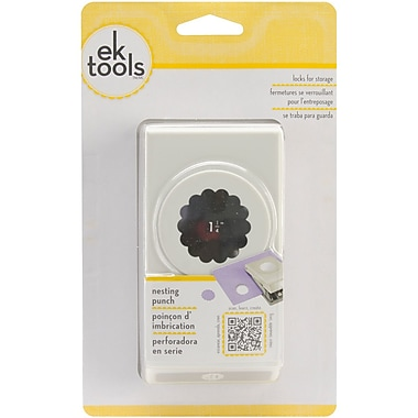 EK Success® Nesting Paper Punch, Scallop Circle, 1 1/4in.