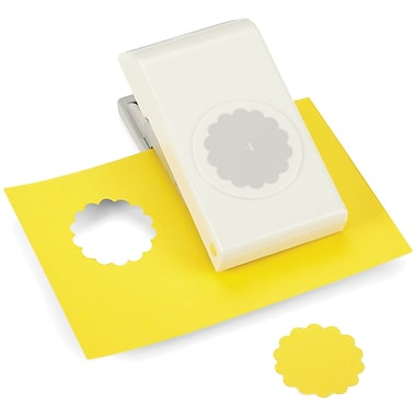 EK Success® Nesting Paper Punch, Scallop Square, 1 1/2