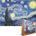Eurographics 19 1/4in. x 26 1/2in. Jigsaw Puzzle, in.Van Gogh Starry Nightin.
