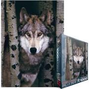 Eurographics 19 1/4 x 26 1/2 Jigsaw Puzzle, Gray Wolf