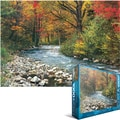 Eurographics 19 1/4in. x 26 1/2in. Jigsaw Puzzle, in.Forest Streamin.