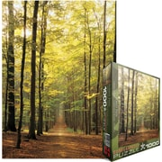 "Eurographics 19 1/4"" x 26 1/2"" Jigsaw Puzzle, ""Forest Path"""
