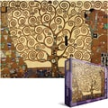 Eurographics 19 1/4in. x 26 1/2in. Jigsaw Puzzle, in.Klimt Tree Of Lifein.