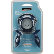 Fiskars® Round The Corner Punch, Squeeze, 1/4