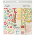 Doodlebug Flower Box Essentials Page Kit, 12in. x 12in.