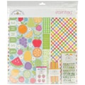 Doodlebug Fruit Stand Essentials Page Kit, 12in. x 12in.