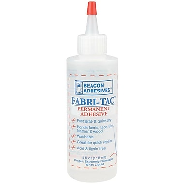 Beacon Fabri-Tac® Permanent Adhesive, 4 oz.