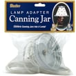 "Darice GJ109 Silver Canning Lamp Adapter, 3.5""Dia"