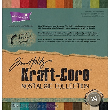 Darice® Core'dinations Kraft Core Cardstock By Tim Holtz, 12