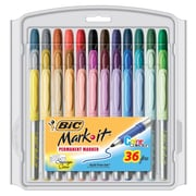 Bic 36 Piece Fine Point Mark It Permanent Markers