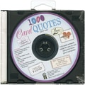 Hot Off The Press Card Quotes CD, 1000 Quotes