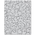 Hero Arts® 4 3/4in. x 5 3/4in. Cling Stamp, Flourish Background