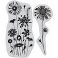 Hero Arts® 4 3/4in. x 5 3/4in. Cling Stamp, Wildflower Garden