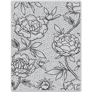 "Hero Arts® 4 3/4"" x 5 3/4"" Cling Stamp, Large Flower Background"