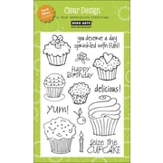 "Hero Arts® 4"" x 6"" Clear Stamp, Cupcakes"