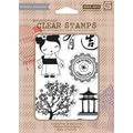 Hero Arts® 4in. x 6in. Clear Stamp, Japanese Garden