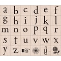 Hero Arts® 4in. x 5in. Mounted Rubber Stamp Set, Playful Flowers Letters