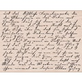 Hero Arts® 3 3/4in. x 4 1/2in. Mounted Rubber Stamp, Old Letter Writing