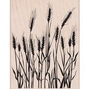 """Hero Arts® 3 3/4"""" x 4 1/2"""" Mounted Rubber Stamp, Silhouette Grass"""