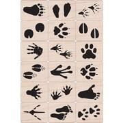 """Hero Arts® 3"""" x 4"""" Ink 'n Stamp Tub, Animal Prints"""