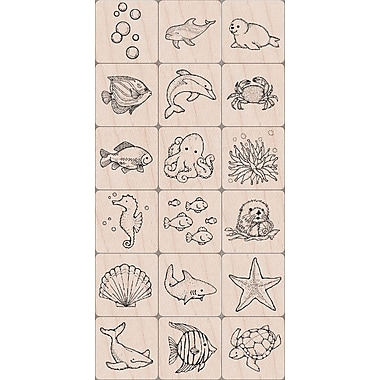 Hero Arts® 3in. x 4in. Ink 'n Stamp Tub, Sea Life
