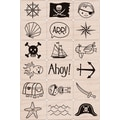 Hero Arts® 3in. x 4in. Ink 'n Stamp Tub, Pirate