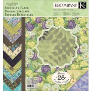 K&Company™ Botanical Specialty Paper Pad, 12 x 12