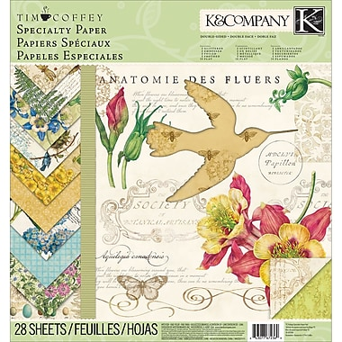 K&Company™ Foliage Specialty Paper Pad, 12in. x 12in.