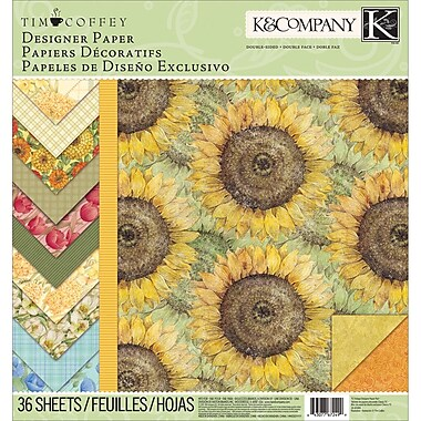 K&Company™ Foliage Designer Paper Pad, 12in. x 12in.