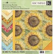 K&Company™ Foliage Designer Paper Pad, 12 x 12