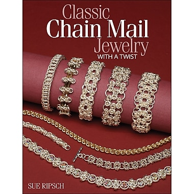 Kalmbach Publishing Book in. Classic Chain Mail Jewelry With A Twist in.
