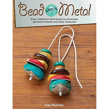 Kalmbach Publishing Book in. Bead Meets Metal in.