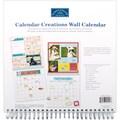 Karen Foster Calendar Creations Wall Calendar, 12in. x 12in., Blank