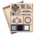 Martha Stewart Mounted Stamp Set, Flourish