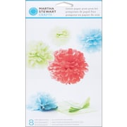 Martha Stewart Modern Festive Tissue Paper Pom Pom Kit